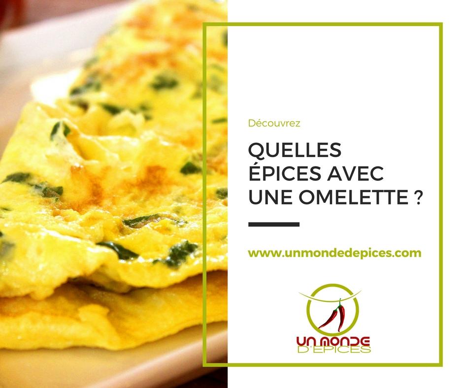 Quelles Epices Avec Une Omelette Maison