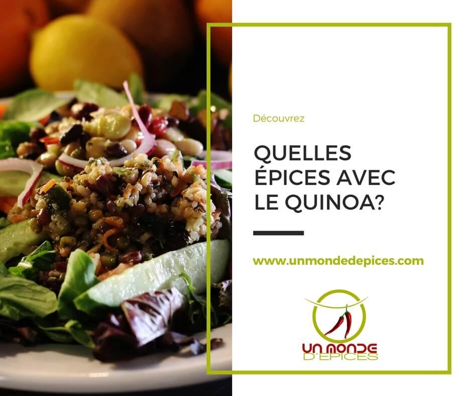 Quelles Epices Avec Le Quinoa