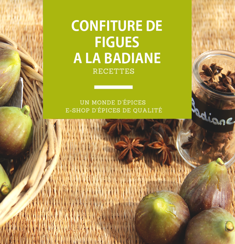 Confiture de figues à la badiane